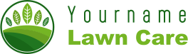 YourName Lawn Care Service Logo